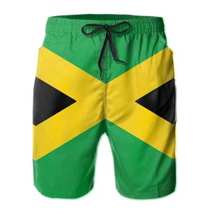 R333 Sports Jamaica Colors (Horizontal) Shorts Breathable Quick Dry Humor Graphic Male Shorts