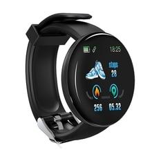 Bakeey D18 Smartwatch bracelet fréquence cardiaque pression artérielle O2 moniteur Fitness Tracker Information pousser montre intelligente hommes femmes