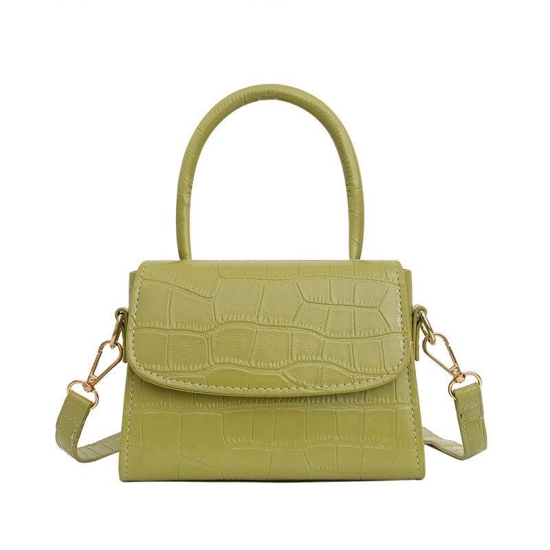 Crocodile Pattern Crossbody Bags For Women 2020 Small Ladies Handbag PU Leather Hand Bag Brand Desig
