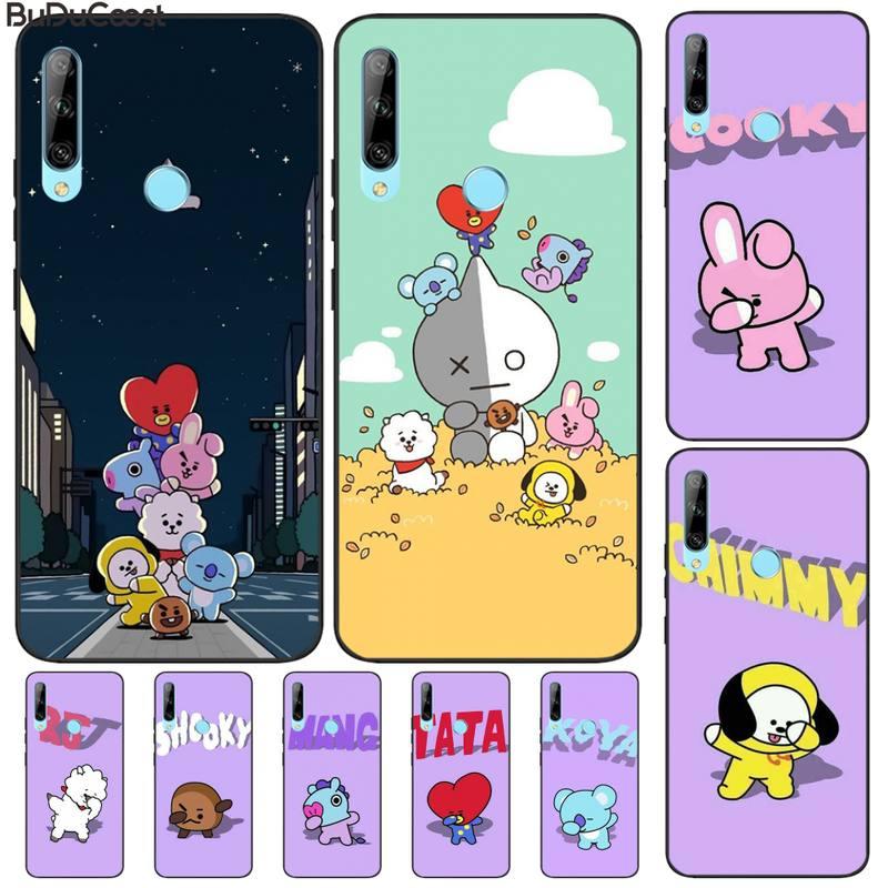 CUCI de dibujos animados lindo a prueba de balas grupo niño DIY funda de teléfono de lujo para Huawei disfrutar de S 7S 8 S 8 9E 7 8 9 10plus NOVA 6-5G 7 Pro se