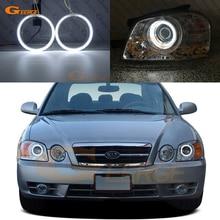 Excellent kit yeux dange CCFL anneau Halo Ultra lumineux pour Kia Optima MAGENTIS MS 2003 2004 2005 2006 phare de lifting