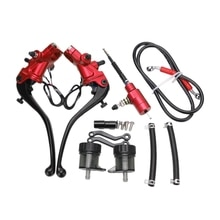 Moto frein maitre cylindre câble embrayage Radial pompe de frein 22mm universel pour Honda Yamaha Kawasaki