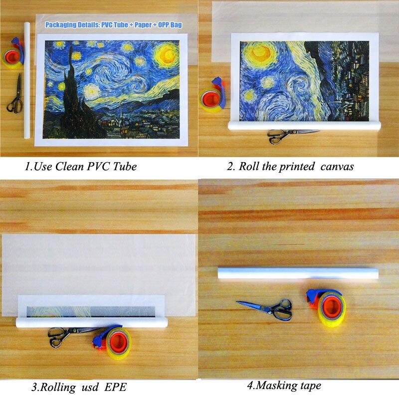 Astronauta na lua paisagem pintura da lona impressa parede arte espaço paisagem imagem para sala de estar quadros decoração casa
