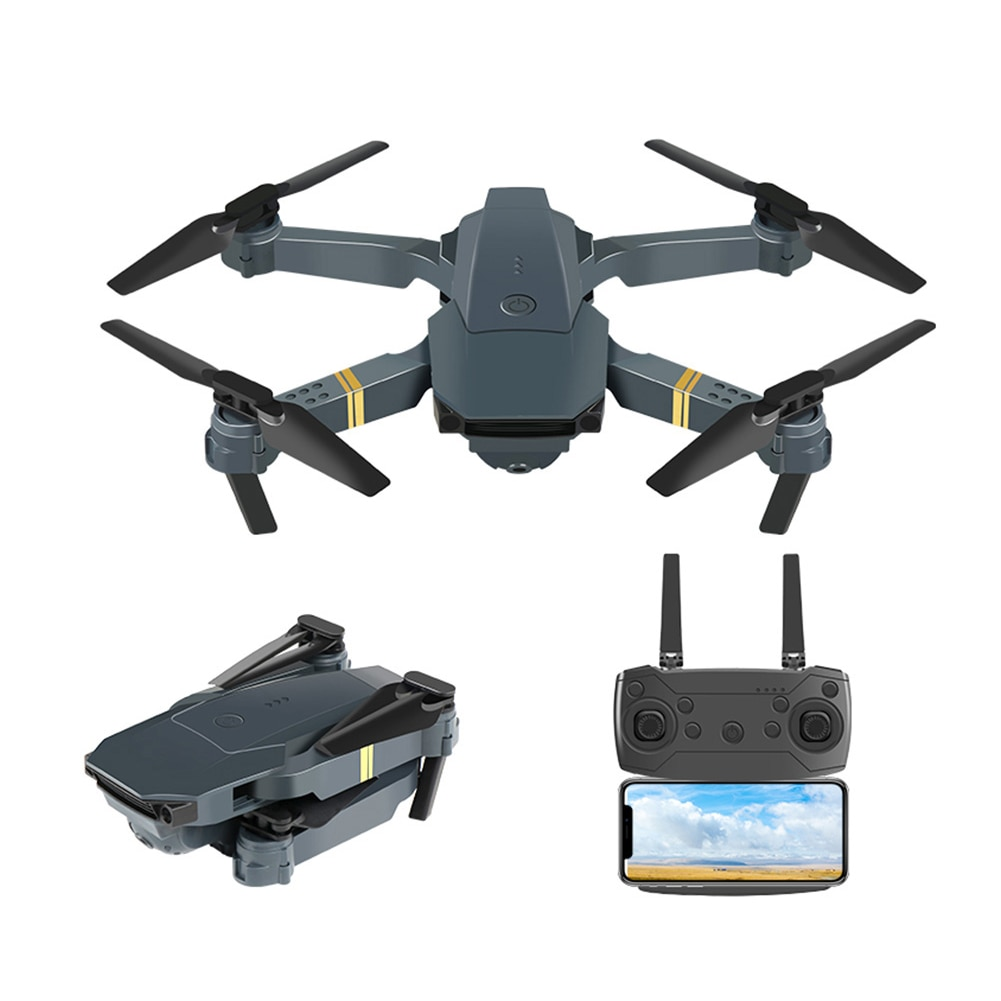 E58 Quadrotor Foldable Drone Portable Drone Kit 720P/1080P/4K HD Aerial Photography RC Drone With Tracking Shooting Function