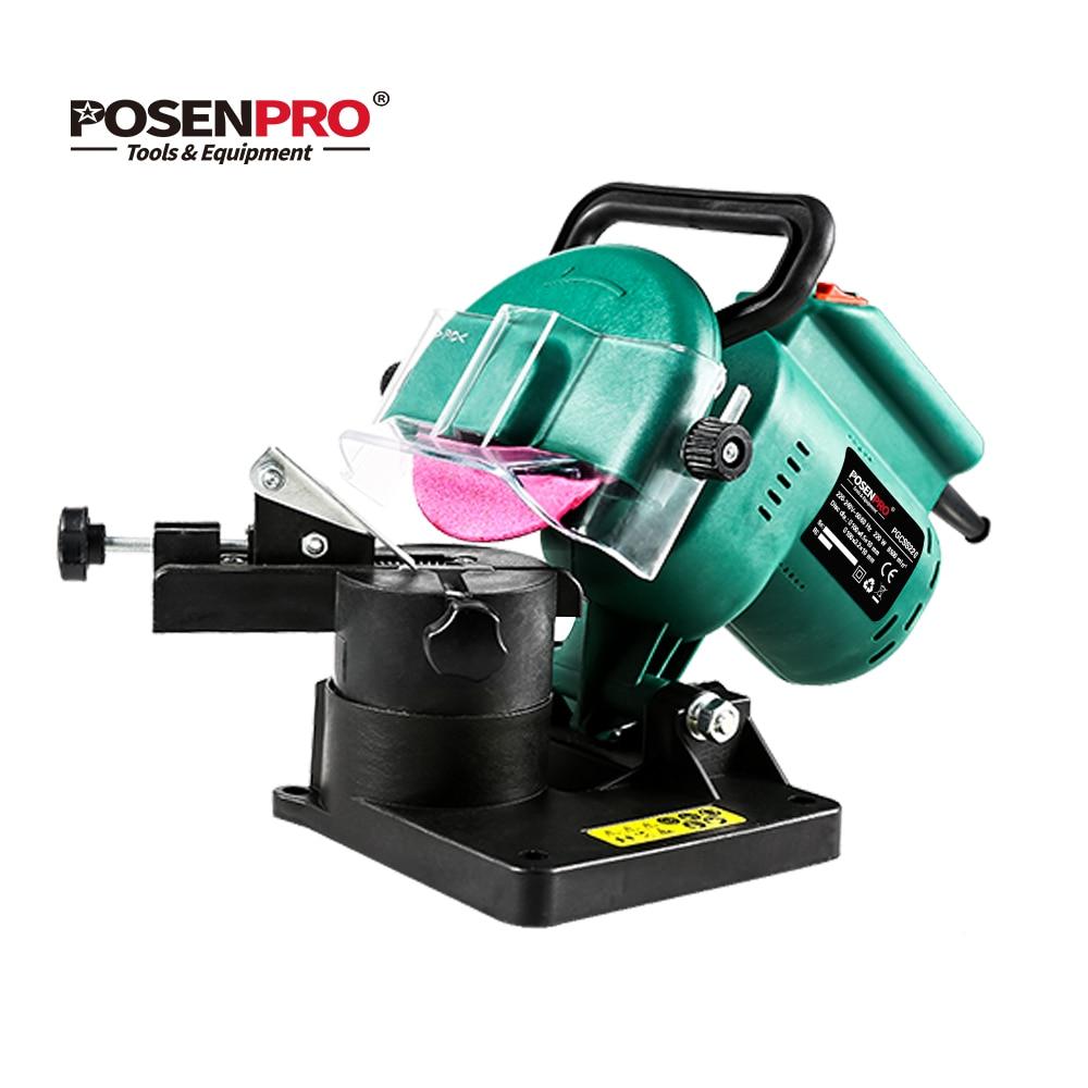Kettingzaag slijper 220 w 100 mm 4 inch power grinder machine tuingereedschap, draagbare elektrische kettingzaag slijper