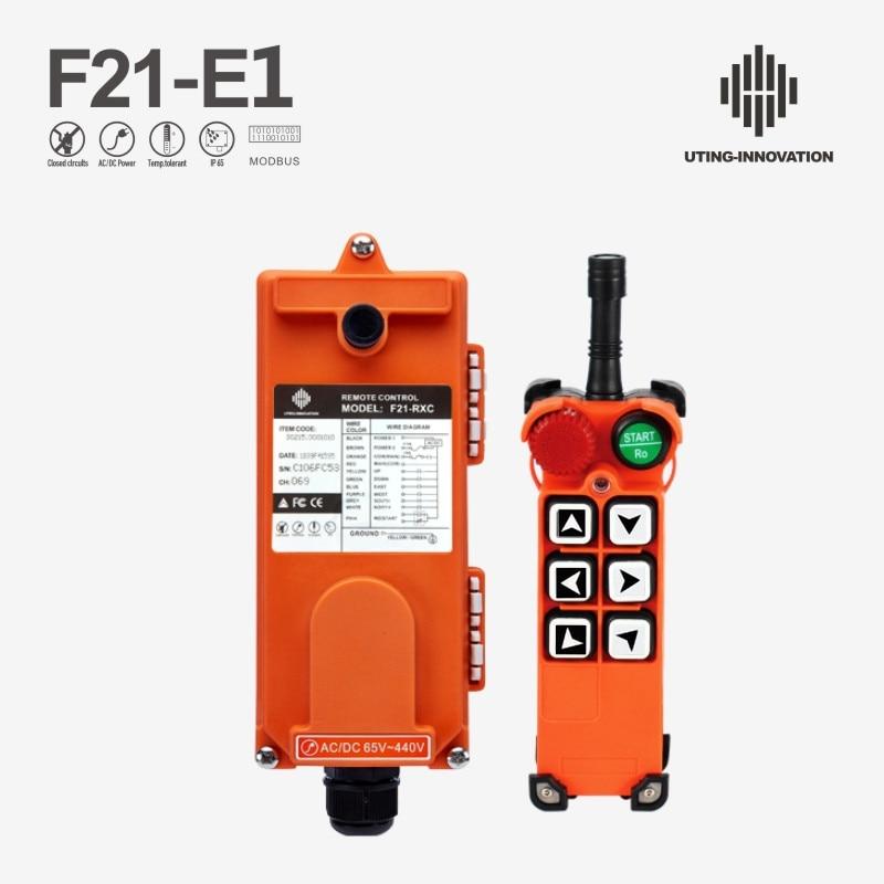 بالجملة الصناعية ونش رافعة التحكم عن بعد F21-E1 24V 36V 48V 220V 380V 6 قناة التحكم عن بعد ل رافعة كرين