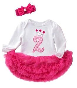 Dress For Baby Girls 2 Year Birthday Dress Infant Princess Party Dress Toddler Dress Children Clothing Kids Christmas Costume