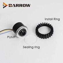 Barrow LOWARA Computer Case D5 Water Pump PC Cooling System 8~24V Voltage Maximum Flow 1200L/H D5 Pump Core 37w 3pin 4pin