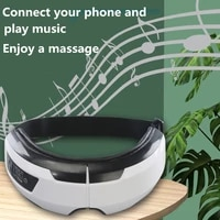 eye care instrumen heating bluetooth music relieves fatigue and dark circles smart airbag vibration eye massager