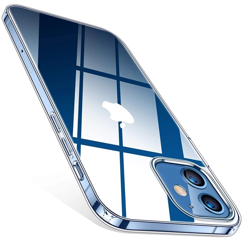 Ultra Thin Clear Case For iPhone 11 12 Pro Max XS Max XR X Soft TPU Silicone For iPhone 6 7 8 Plus 1