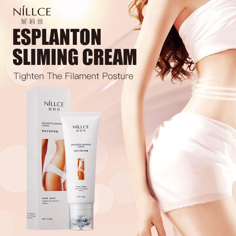 Nillce120g Weight Loss Cream Slimming Cream Fat Slimming Products Anti Cellulite Cream Body Massager Cream