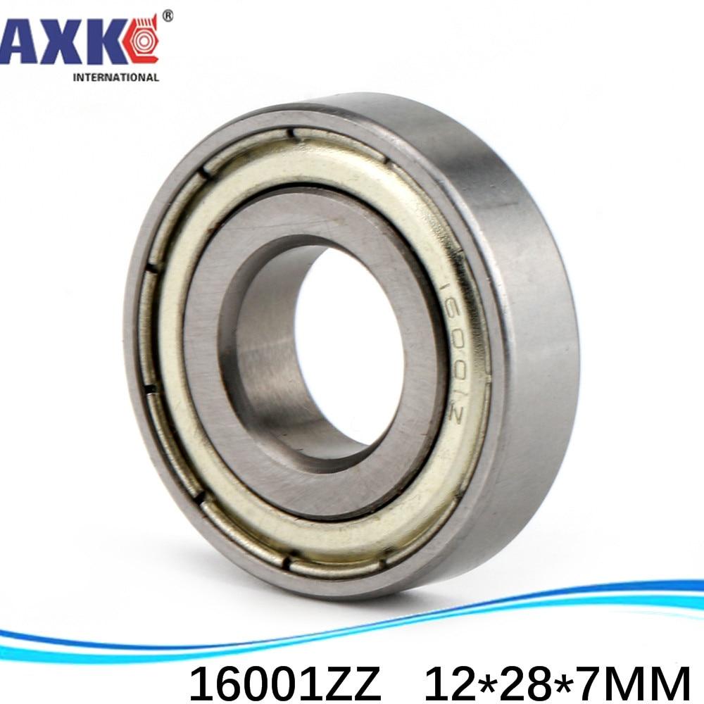 16001Z rodamiento 16001 ZZ Z 16001-ZZ 16001-2RS 16001RS rodamiento de bolas de ranura profunda 12*28*7mm