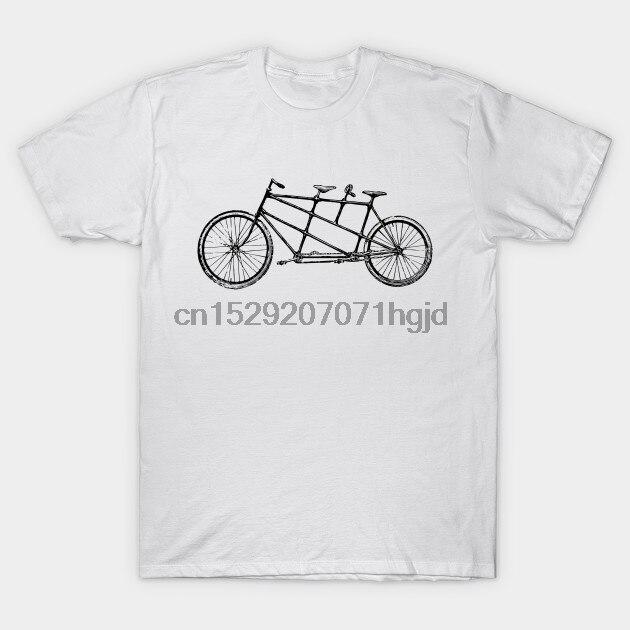 Hombres camiseta Tandem bicicleta por canvazshop camiseta mujer camiseta