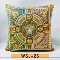pillow american luxury wind pillow office sofa home model room living room bedside backrest cushion cover no pillow core
