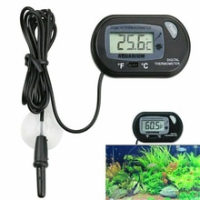 Digital Thermometer Aquarium Power Saving Electronic Water Led Car Metal Temperature Control Product