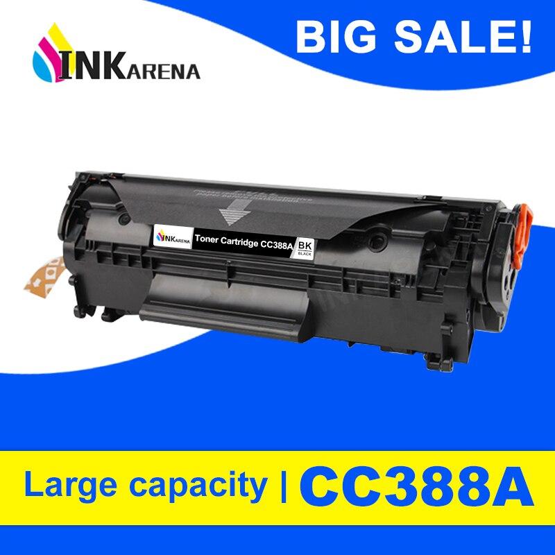 INKARENA совместимый картридж с тонером для принтера Замена для hp CC388A 388a 388 88a LaserJet P1007 P1008 P1106 P1108 Pro M1136 M1213nf