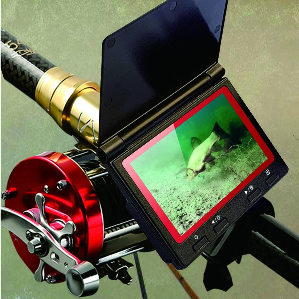 Underwater Fishing Camera High-Definition 180 Degrees Fish Finder Set 4.3 Inch Display Fish Detector Monitor Accessories Tackle enlarge
