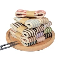 3 8cm two color fish shredded hessian clothing shoes hats accessories bouquet diy gift box decoration ribbon jute rope