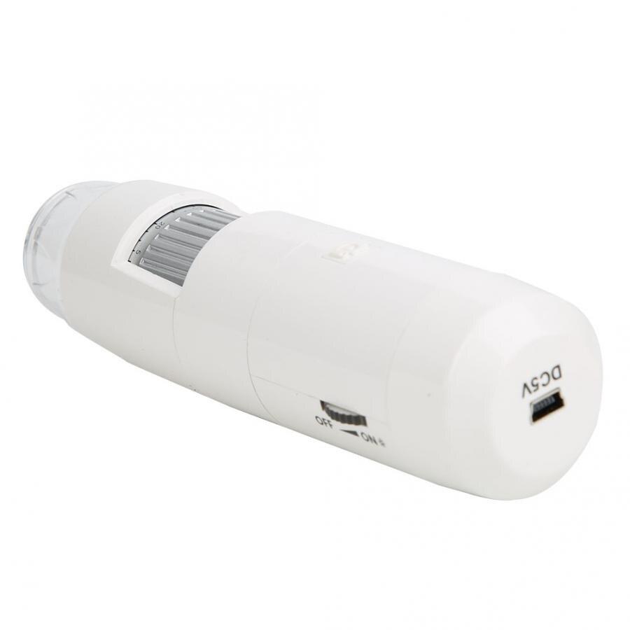 Us plug 110-240 v HT-W35 microscópio digital sem fio wifi microscópio digital 5-200x microscópio com base