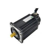 Servomotor de CC sin escobillas de alto par de 110mm, motor BLDC de 24v y 750w con codificador 2500ppr para ROBOT AGV de pista de goma