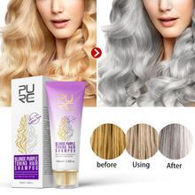 100g mode gris cheveux teinture grand-mère gris cheveux peinture cire longue durée salon de coiffure Smoky lumière cheveux gris crème de blanchiment beauté couleur