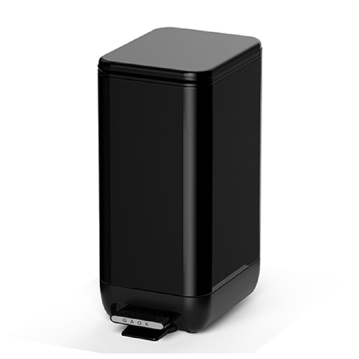 Ins Pedal Trash Bin With Lid Bathroom Dustbin Household Toilet Narrow Seam Waste Bin Cleaning Tools Garbage Bucket enlarge