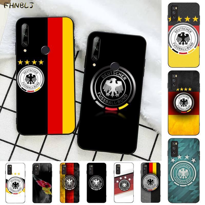 FHNBLJ famoso club de fútbol logotipo funda de teléfono suave Capa para Huawei Honor 8x9 10 20 V 30 pro 10 20 lite ver 7A 9lite jugar caso