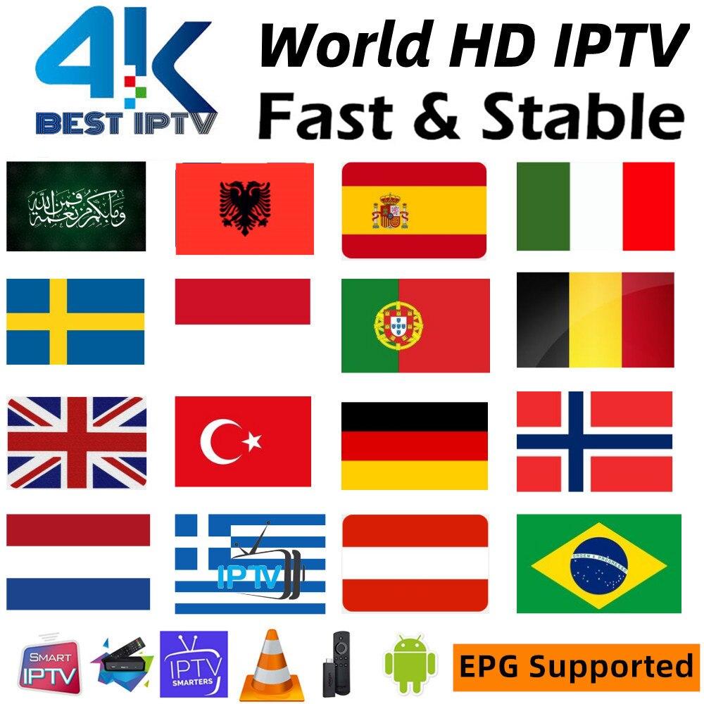 IPTV Europe Sweden Germany Spain Portugal Arabic Code IPTV M3U Android IP TV Greek Norway Denmark Sweden IPTV Subscription