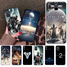 Destiny 2 game TPU black Phone Case Cover Hull For Samsung A10 A20 A30 A40 A50 A70 A80 A71 A91 A51 A6 A8 2018