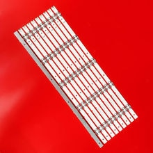 10pcs/set LED Backlight bar For Insignia NS-55D420NA18 LED55M5500DU SVH550AL28 SVH550AL3