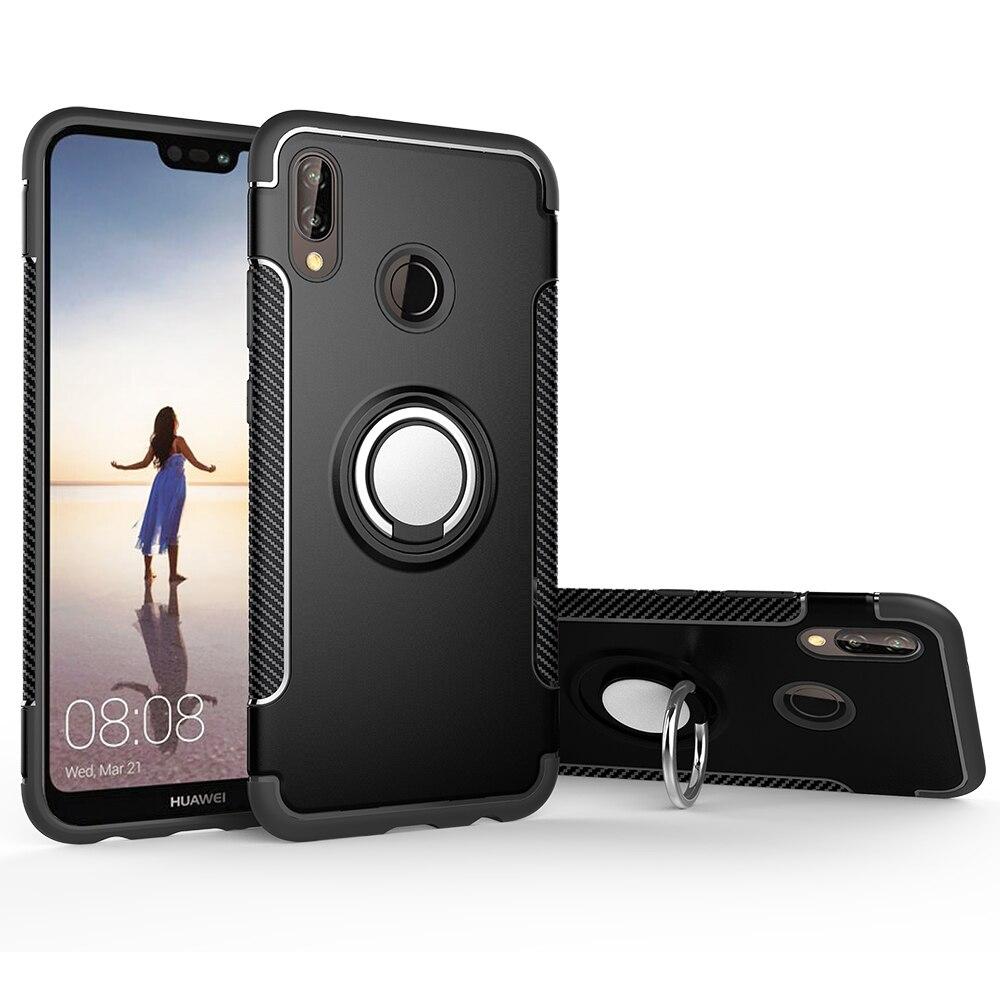 Funda de teléfono para iPhone 6, Fundas blandas de silicona, Funda trasera con anillo magnético para iPhone 6s 6 Plus 7 8 6 S XR 5S 5, Funda Coque