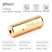 12Gauge Laser Bullet Cartridge (Light Pulse 70MS) Laser Ammo, Laser Training Bullet for Dry Fire Training & Shooting Simulation