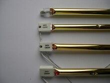 Lámpara calefactora infrarroja de repuesto de tubo doble Heraeus