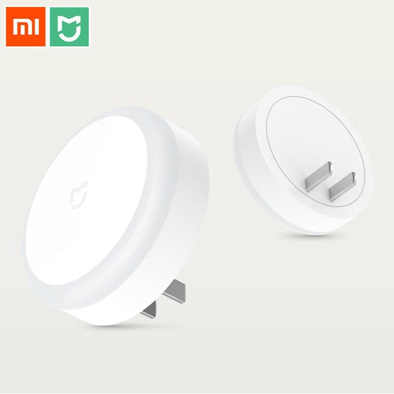 Xiaomi Mi Mijia Smart LED Night Light Light Sensor Touch mode Night Lamp For Home Corridor Bedroom Aisle AC 220V plug in Version