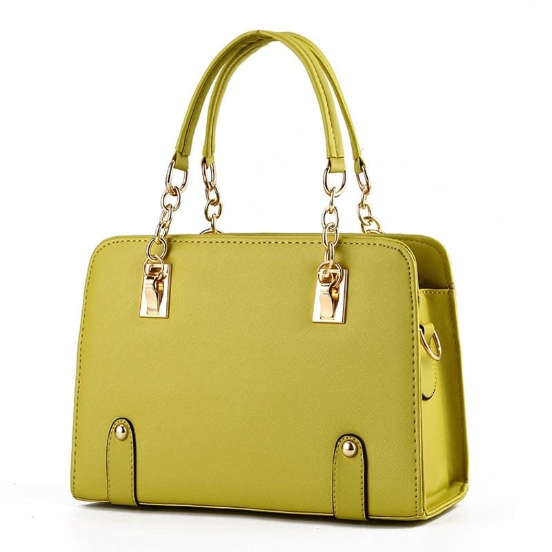 MONNET CAUTHY New Arrival Handbags Classic Fashion Elegant Female Totes Solid Color Green Lake Blue Beige Zipper Crossbody Bags