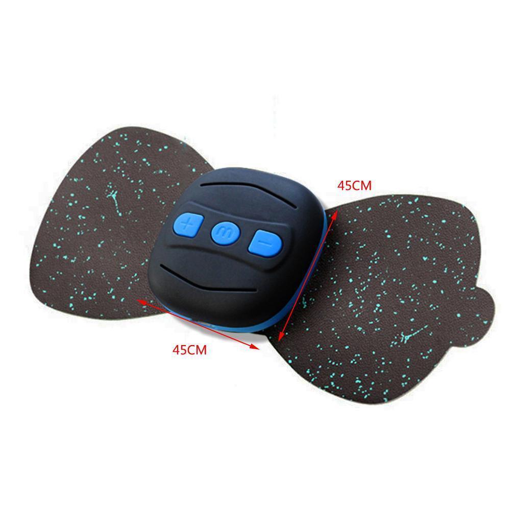 Mini masajeador de cuello cintura masaje de espalda parche de carga piernas vértebra instrumento de fisioterapia pies cervicales T4U0