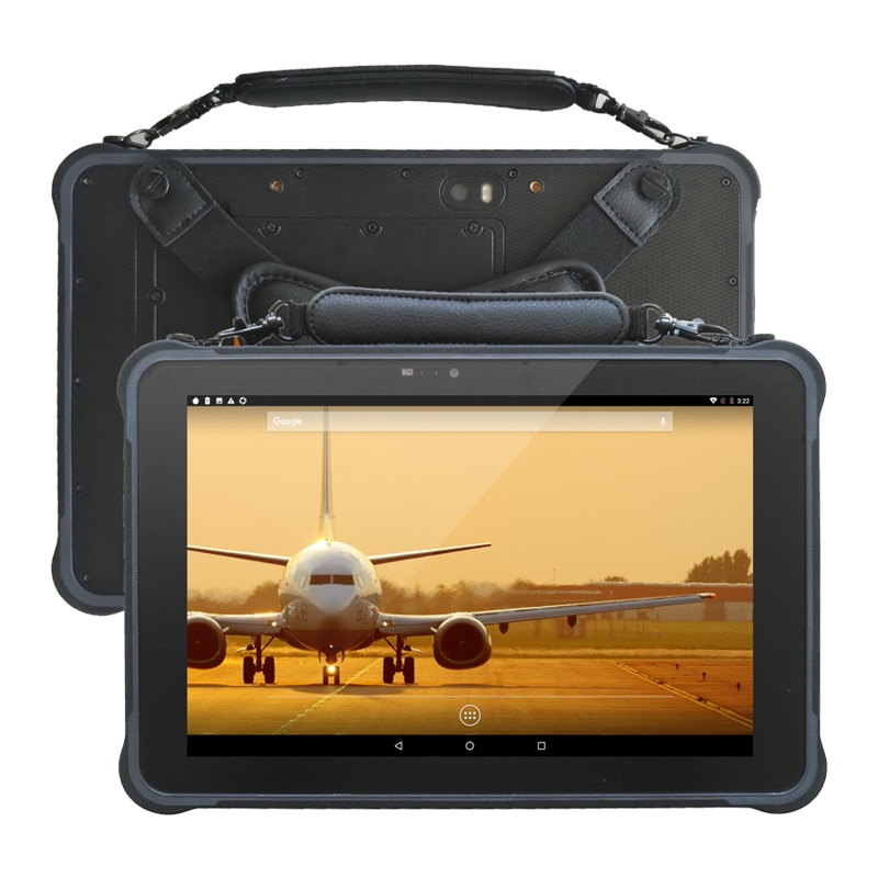 UNIWA T11 IP67/MIL-STD-810G  10.1 inch 10500mAh 13MP Android 7 LTE Tablet Octa Core POGO pin Shockproof Rugged Waterproof Tablet