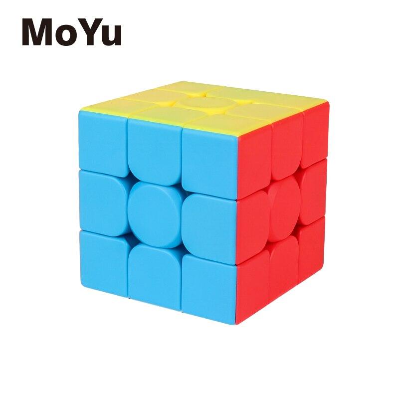 Cubos mágicos rompecabezas MoYu MeiLong 3C 3x3x3 MeiLong3C 55,5mm cubos educativos profesionales de velocidad girar cubos creativos de juguete para niños