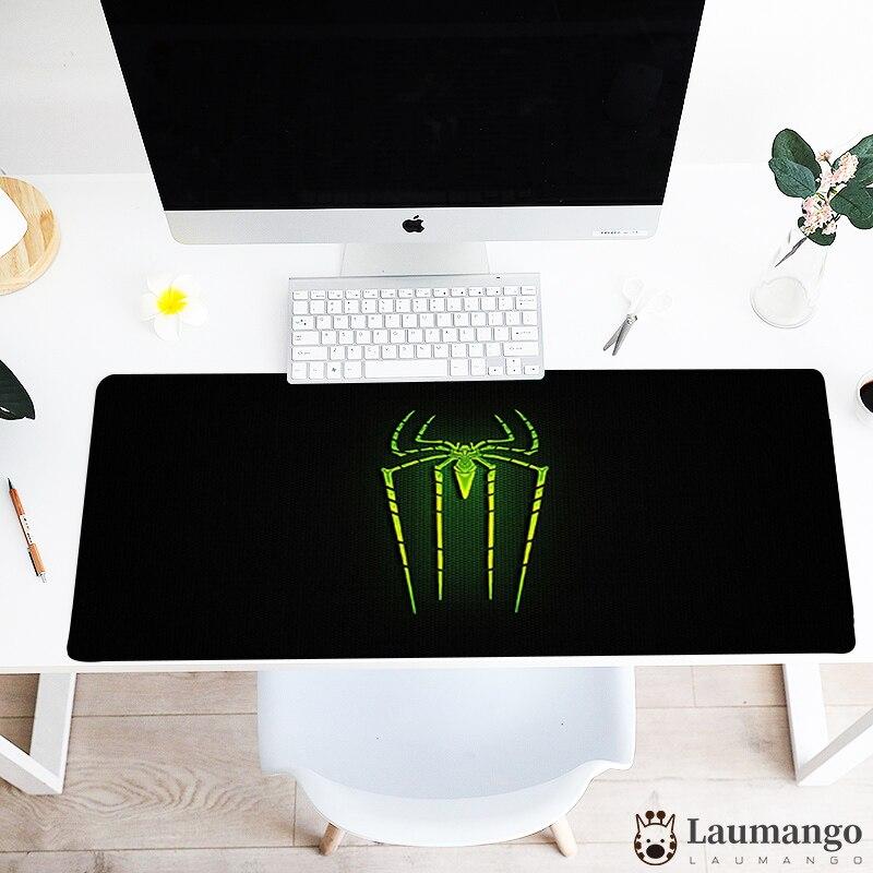 Maus pad SpiderMans logo Anime Design Tisch Matte Gaming Große Größe Einzigartige Mousemat