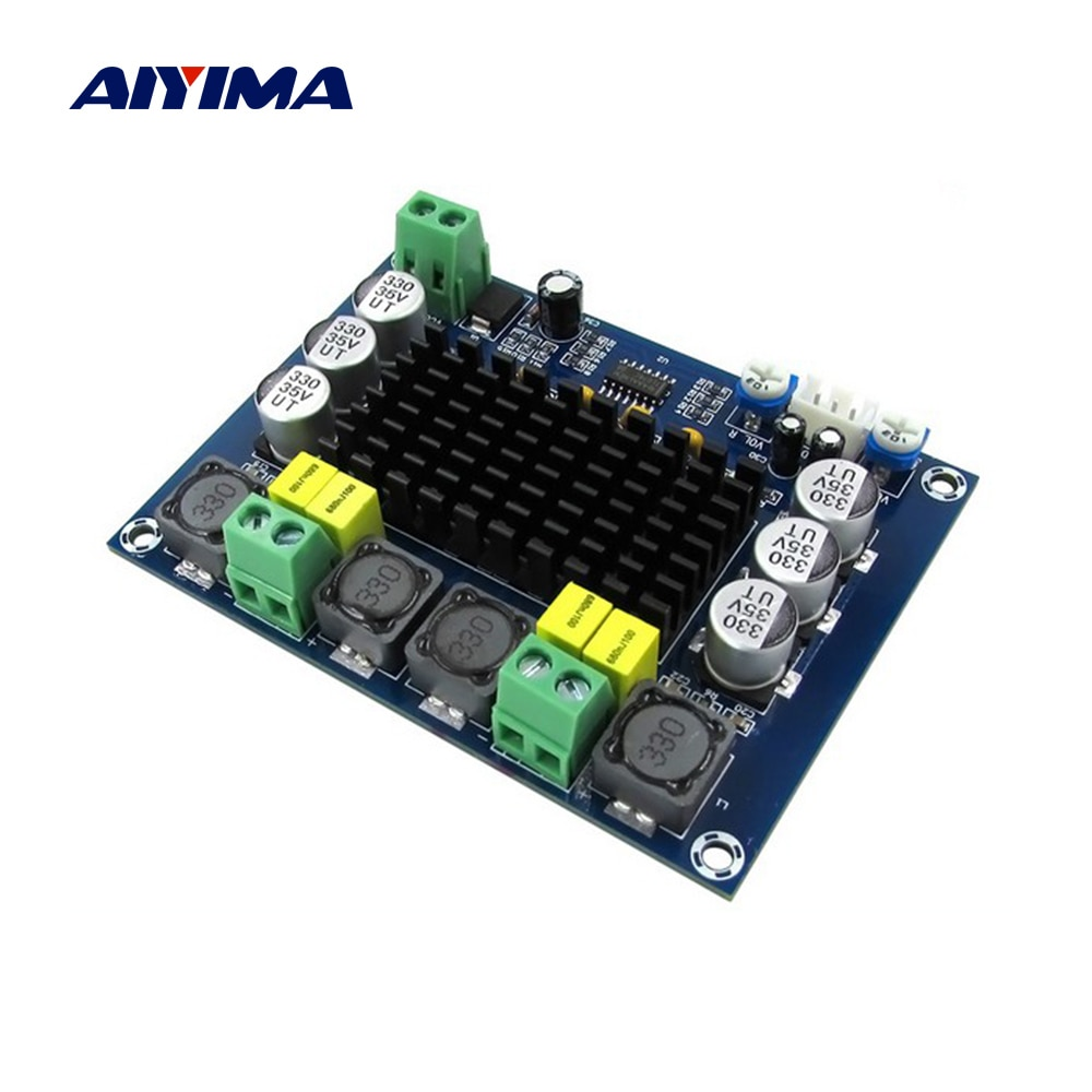 AIYIMA TPA3116D2 Amplificador Digital Board120Wx2 Amplificador estéreo de alta fidelidad de Audio Mini Amp DIY altavoz Home Theater