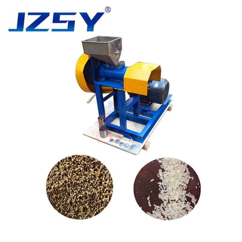 35kg Household Mini Dog Food Puffing Machine Aquatic Animal Feed Extruder Shrimp Making tool/Floating Fish Pellet Mill Equipment
