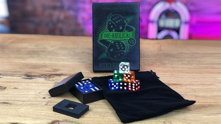 Morir Abolical V5 por Steve Cook (trucos + enseñanza) trucos de magia dados mágico, predicción accesorios ilusiones mago