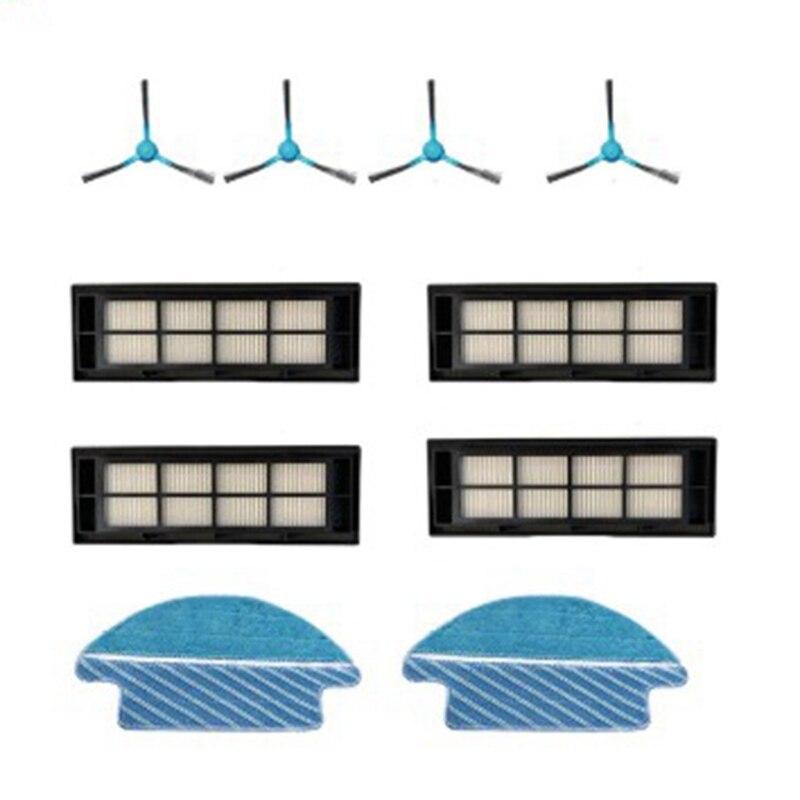 Cepillos laterales paño de mopa Pad trapo filtro de aire para Cecotec Conga 3090 accesorios para aspiradoras
