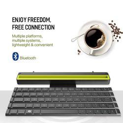 R4 portátil rollable teclado sem fio bluetooth para ios ipad ipod iphone android windows telefone inteligente