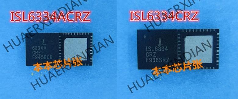 New ISL6334ACRZ ISL6334A CRZ ISL6334CRZ 6334CRZ QFN high quality