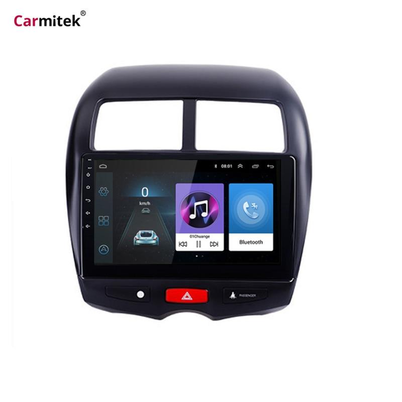 CITROEN C4 1 Carmitek Para Mitsubishi ASX 2010-2015 Peugeot 4008 Player Multimídia Rádio Do Carro de Navegação GPS Android 9