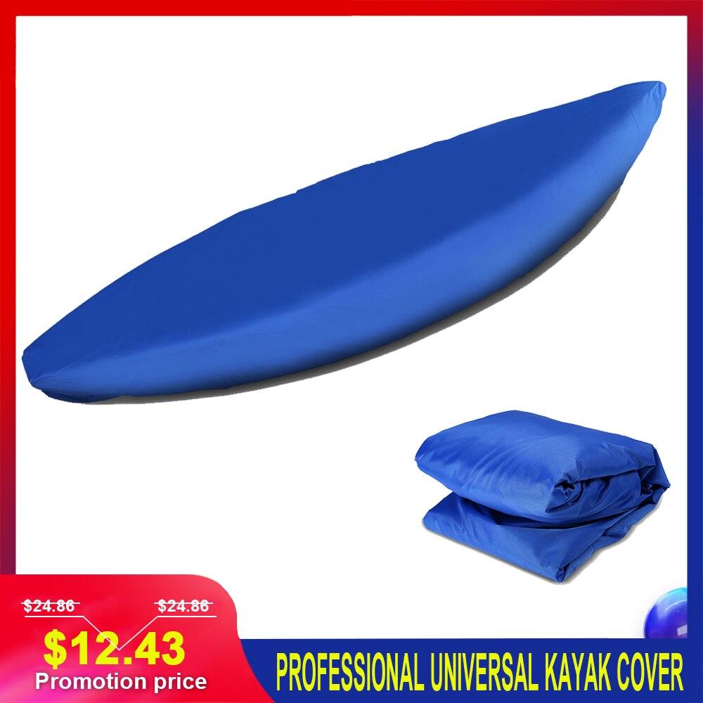Tapa para Kayak Universal profesional, canoa barco resistente al agua UV, cubierta protectora para almacenamiento de polvo, Kayak, bote, canoa