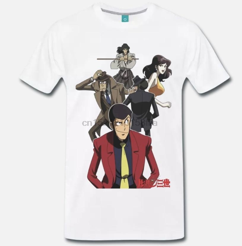 Camiseta LUPIN III CARTONE ANNI 80-MITO-2-S-M-L-XL-2XL-3XL