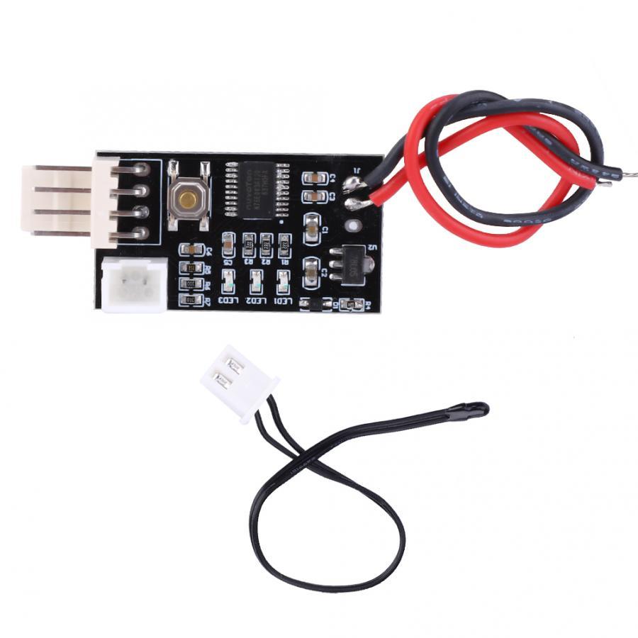 VHM-802 12V PWM controlador de temperatura de 4 cables regulador de velocidad para ventilador de ordenador