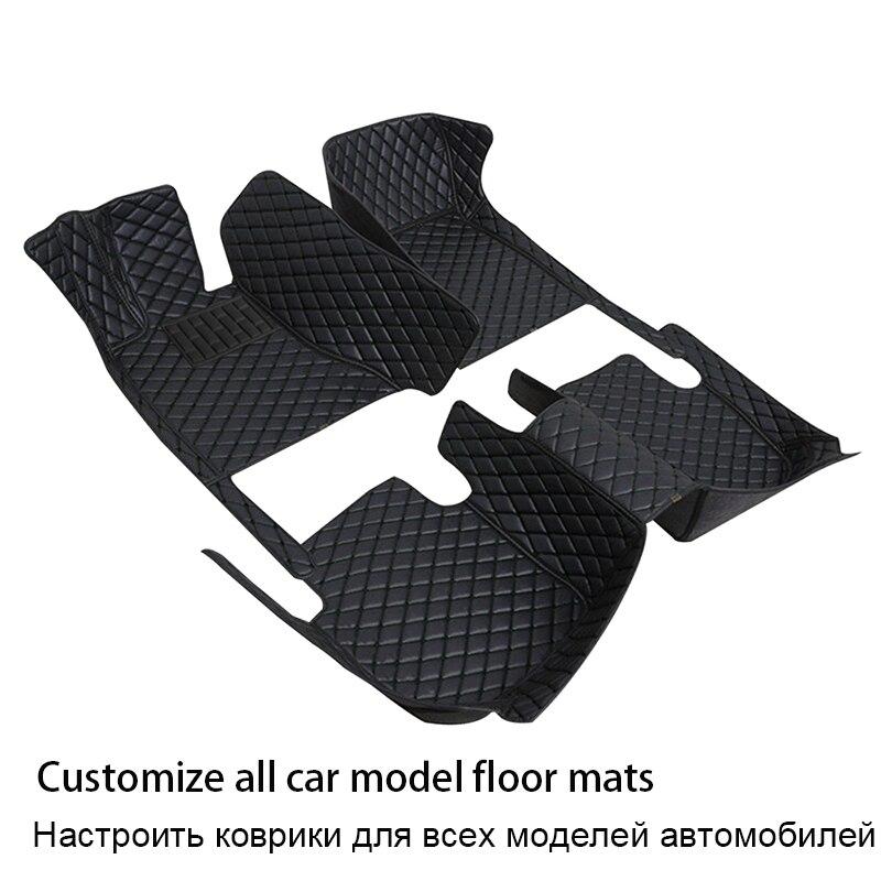 حصيرة أرضية سيارة جلدية متينة لسيارة سوزوكي جراند فيتارا جيمي إغنيس ليانا سويفت sx4 جميع الموديلات اكسسوارات السيارات السجاد